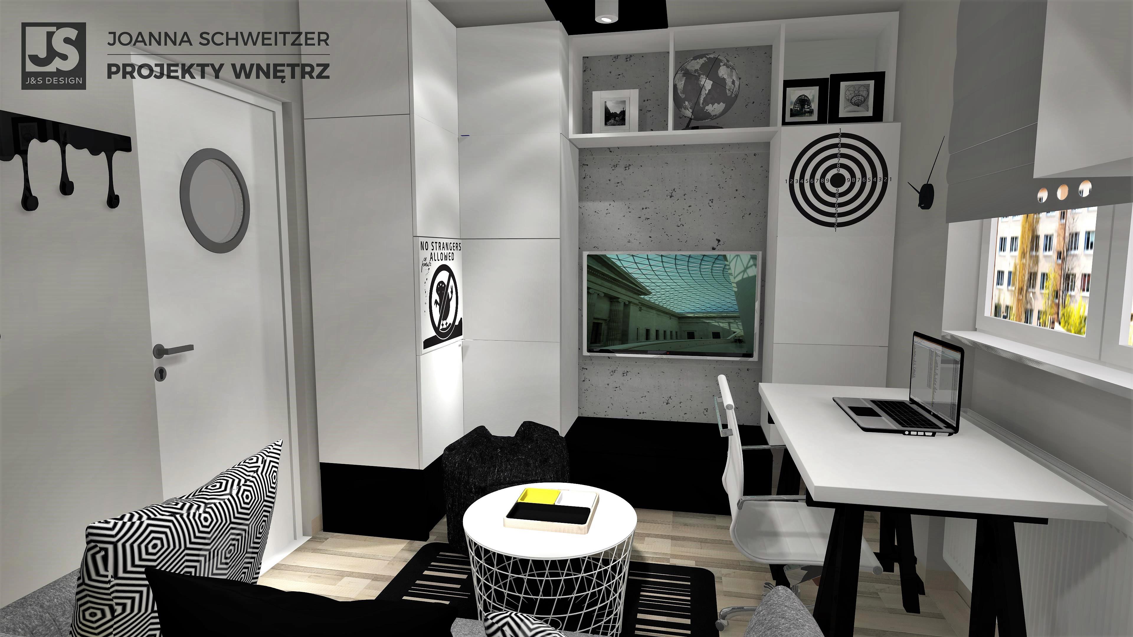 J&S Design projekty wnętrz Śląsk Pokoj bytom