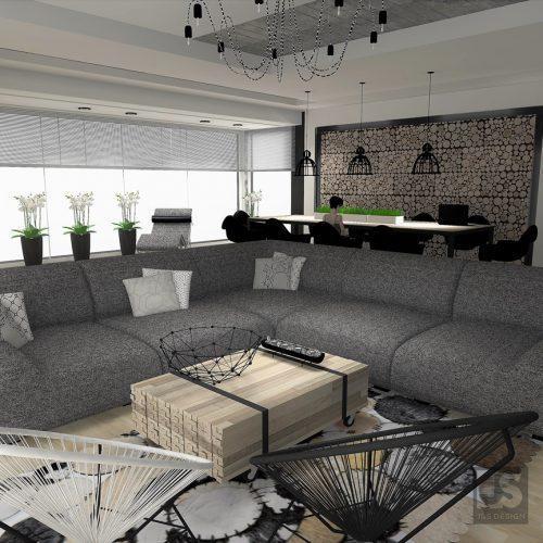 J&S Design projekty wnętrz Śląsk salon mikolow 02
