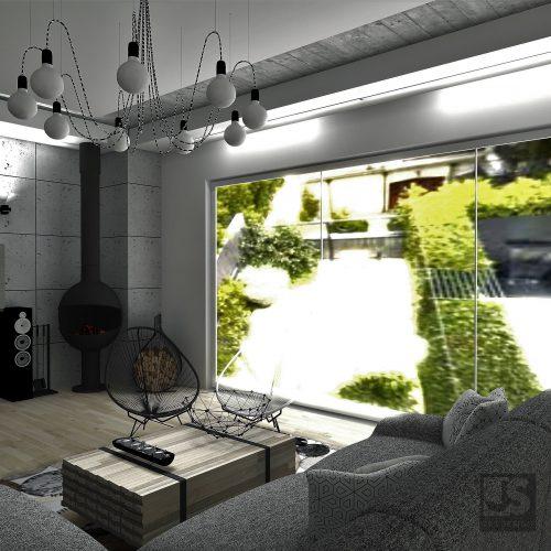 J&S Design projekty wnętrz Śląsk salon mikolow 03